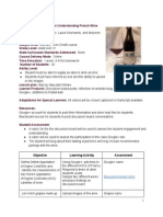 lesson plan - wine