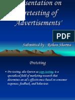 Pre Testing Technique