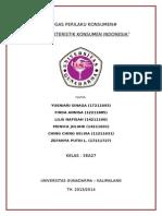 PERILAKU KONSUMEN - KARAKTERISTIK KONSUMEN INDONESIA