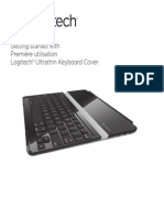Ultrathin Keyboard Cover Quickstart Guide