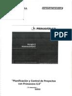 Planificación y Control de Proyectos con Primavera 6.0