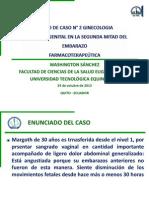 Washington Sánchez - Apoyo de Caso N° 2 Ginecología