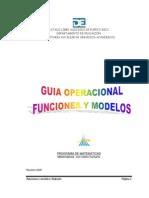 Funciones y Modelos - Silabario