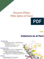 Piloto Fibra Opt Cuzco - ProinvESAN