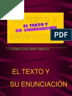 3 El Texto y su Enunciación
