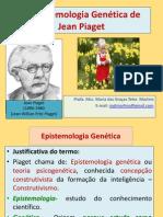 04 A Epistemologia genética, Piaget