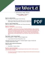 Horus Heresy Betrayal - FAQ/Errata (Version 1.1)