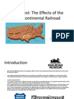 Webquest:The Effects of the Transcontinental Railroad