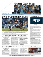The Daily Tar Heel for October 28, 2013