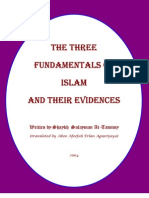 The Three Fundamentals of Islam