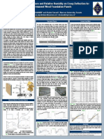 Effect of Temperature and Relative Humidity on Creep Deflection for Permanent Wood Foundation Panels