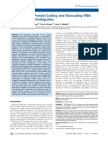 Differentiating Protein-Coding and Noncoding RNA Challenges and Ambiguities
