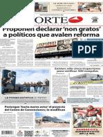 Periódico Norte de Ciudad Juárez 28 de Octubre de 2013