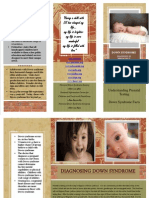 down syndrome brochure