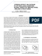 RESIDUAL STRESS EFFECT ON FATIGUE STRENGTH OF NON-LOAD-CARRYING CRUCIFORM WELDED JOINTS OF SM570Q STEEL FOR WELDED STRUCTURES.pdf