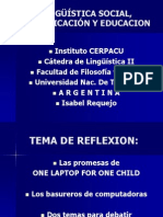One Laptop Per Child DEFINITIVO