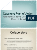 capstone plan of action ppt