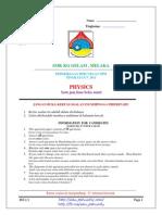 [Edu.joshuatly.com] Melaka Trial SPM 2013 Physics Paper 1 [A5F220A2]