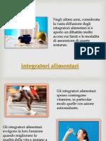 integratori per sportivi