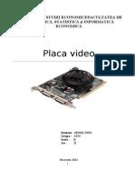 Placa Video - Proiect