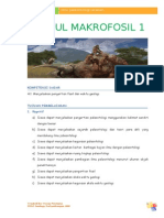 Modul I Pengertian Fosil Untuk Siswa.doc