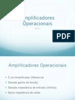Aula 3 - Amplificadores Operacionais.pdf