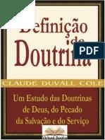 Definição de Doutrina - Claude Duvall Cole.doc