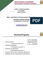 1ra Clase Ciclo 2013 II Introduccion Fisicoquimica