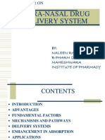 Naleen Bhandari, Intranasal medication delivery overview.ppt
