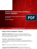 RHEL6New Features