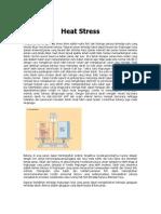 Mengenali Paparan Panas _Heat Stress_ Pada Pekerja
