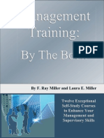 Management Training by the Book 8961