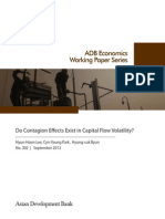 Do Contagion Effects Exist in Capital Flow Volatility?
