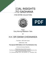 Insights Into Sadhana (Complete)