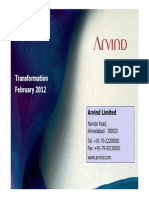 ArvindCorporatePresentationFebruary2012.pdf