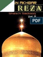 UYUN AKHBAR AL REZA - VOL. 2 - Sheikh Sadooq - XKP