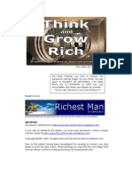 Success - Napoleon Hill - Think and Grow Rich (Recommended by David DeAngelo)