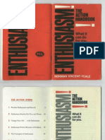 Success - Norman Vincent Peale - Enthusiasm the Action Handbook