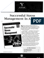 Successful Stress Management in a Week