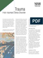 NIMH - Reliving Trauma - Post Traumatic Stress Disorder (PTSD)