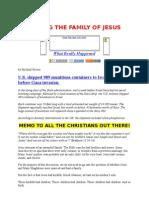 KILLING THE FAMILY OF JESUS.doc