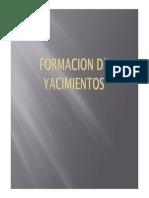 Formacion de Yacimientos