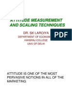 Mr Attitude Measurement