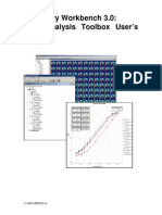 Data Analysis Toolbox Users Guide 3-1000-0B0029-A