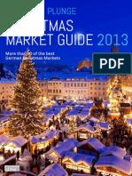 Christmas Market Guide 2013