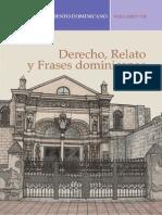 Derecho, Relato y Frases Dominicanas