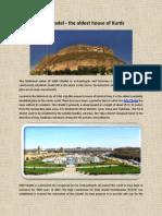 History of Erbil Citadel