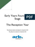 ARK Reception Year