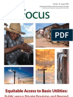 Equitable Access to Basic Utilities