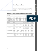 Exeter Transport Timetable
